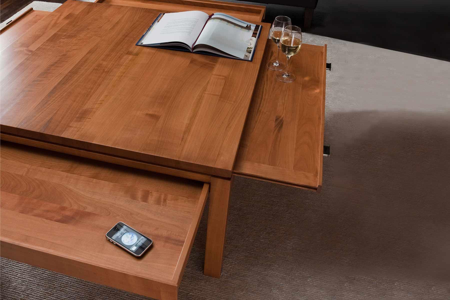 bordeaux couchtisch aus kirsche form exclusiv. Black Bedroom Furniture Sets. Home Design Ideas